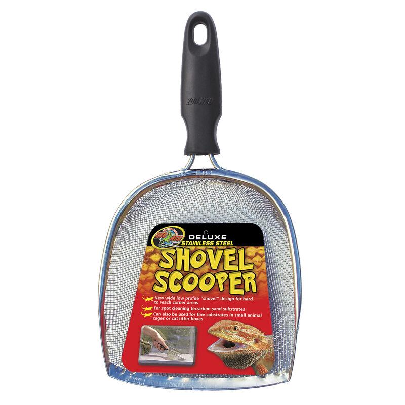 ZooMed ZooMed ZooMed Deluxe Shovel Scooper - Edelstahl Sandsieb 248322