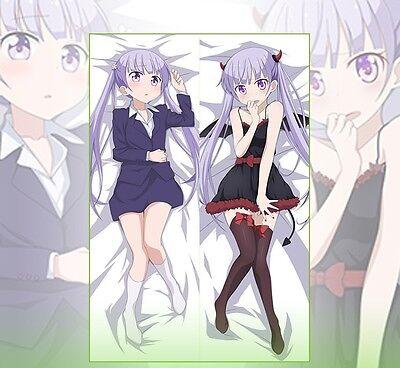 New Game Dakimakura Hifumi Takimoto Anime Hugging Body Pillow Case Covers