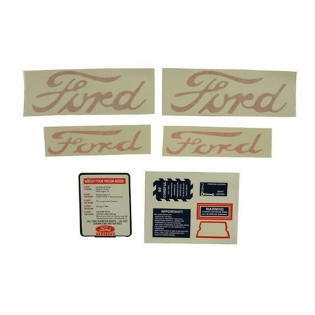 D-NAA5354 Fits Ford Fits New Holland Tractor Decal Set Jubilee NAA Tractors