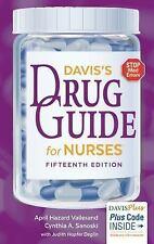 Davis's Drug Guide for Nurses by April Hazard Vallerand and Cynthia A. Sanoski (Paperback, Revised Edition, 2016)