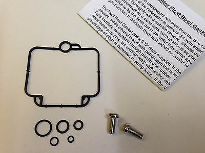 Triumph Thunderbird 900 Mikuni Carburettor Viton Float Bowl Seal, Internal Seals
