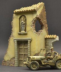DioDump-DD046-Italian-Chapel-Ruin-Cassino-1-35-scale-diorama-building