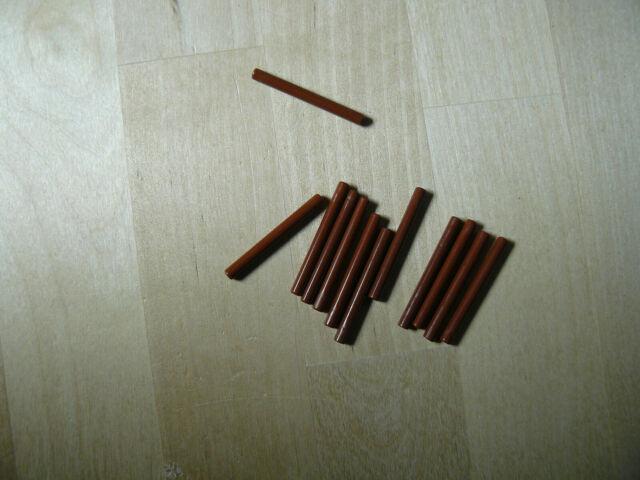 4x bar 135.3 oz sabre Lightsaber laser Blade beige//tan 30374 NEW Lego