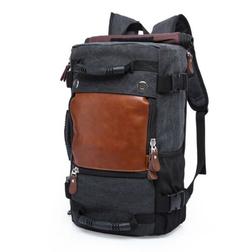 Outdoor Men/' Hiking Cycling Backpack Trolley Case Fixed Design Laptop School Bag
