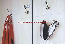 "Reebok Strikezone ""Ryan Giggs"" 2003 Double Page Magazine Advert #8"