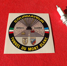 Sticker courmayeur mont blanc tunnel volvo f88 Adesivi
