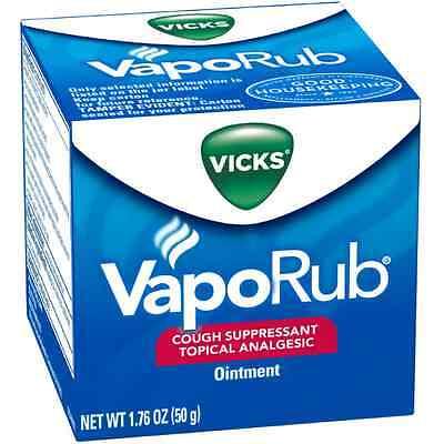 Vicks VapoRub Ointment 1.76 oz