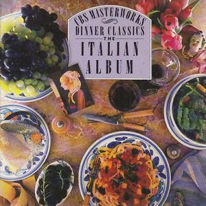 Various-Composers-amp-Artists-USA-1989-Dinner-Classics-The-Italian-Album-CD