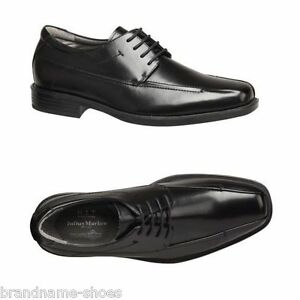 MENS-JULIUS-MARLOW-WIZARD-MEN-S-BLACK-LEATHER-WORK-LACE-UP-FORMAL-DRESS-SHOES