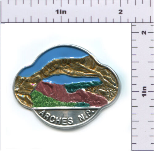 AR-3 Hiking Staff Medallion Stocknagel-Arches NP-View Of Arch