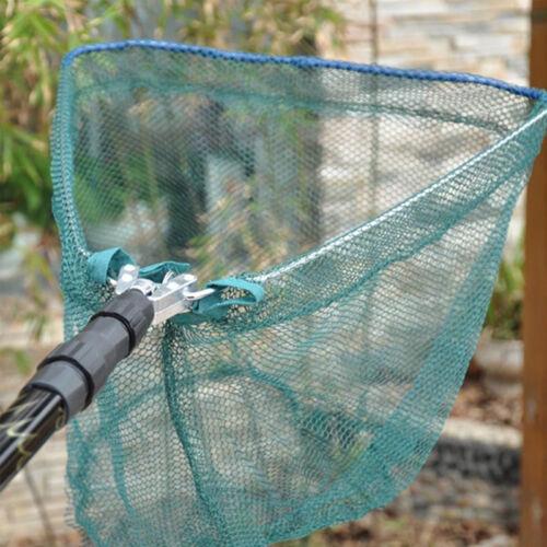 Portable Telescopic Fishing Landing Net Extending Rod Folding Handle