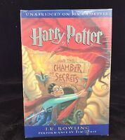 Harry Potter Chamber Of Secrets Jk Rowling, Audiobook 6 Cassettes Sealed