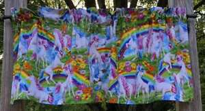 Rainbow-Unicorn-Butterfly-Flowers-Floral-Unicorn-Handcrafted-Curtain-Valance