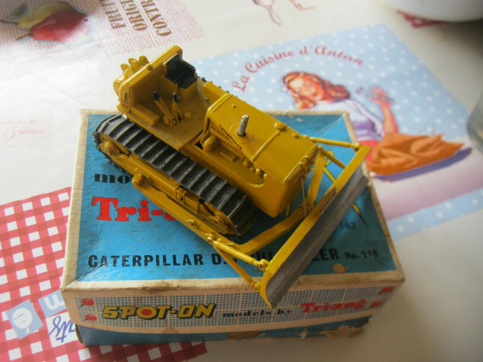 Spot-on models by Tri-ang caterpillar D.9 Bulldozer no 116