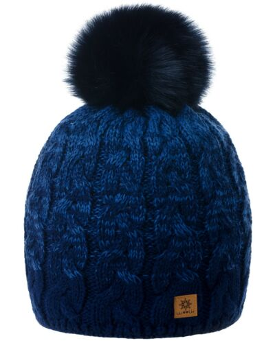 Girls Winter Beanie Hat Children Knitted Girl Boy Hats Kids Pom Pom Worm Fleece