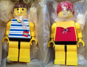 Lego Lego Lego Jumbo Fig Playa Playa Niño Niña Conjunto limitado Figura Muñeca MF02019 MF02020  Envío rápido y el mejor servicio