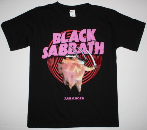 BLACK SABBATH PARANOID'70 HEAVY METAL OZZY OSBOURNE DIO S-XXL NEW BLACK T-SHIRT