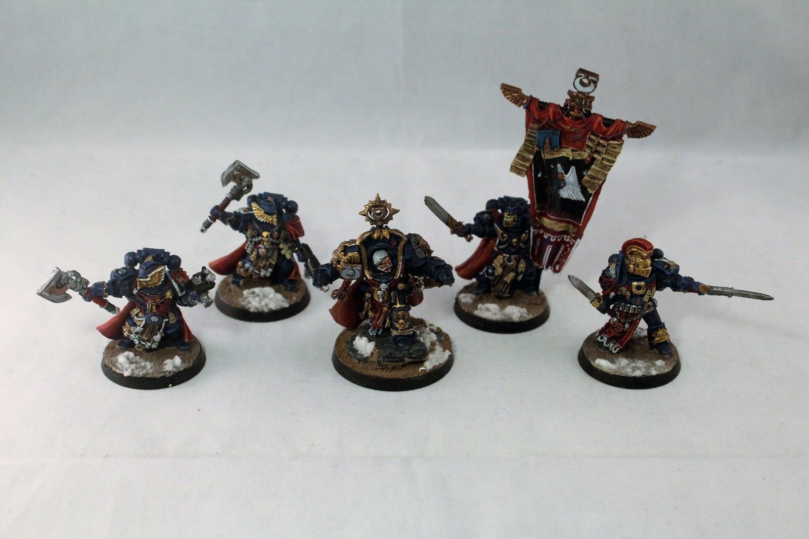 Warhammer Space Space Space Marine Ultramarine Honor Guard Well Painted 2f90d8