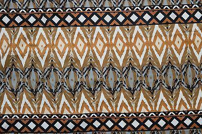 Geometric Techno Print #42 Double Knit Fabric Stretch Poly Lycra Spandex BTY