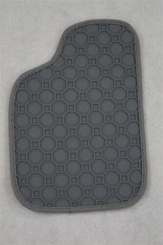 NEU $$$ Gummimatten für Mercedes CLK W209 A209 C209 GRAU Gummi Fußmatten