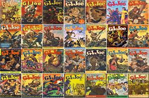1950-1957 GI Joe Comic Book Package 26 eBooks on CD