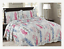 Reversible Patchwork Bedspread 3 Piece Quilt Comfort bed Vintage Set Double King