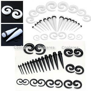 28pc-12G-00G-Acrylic-Ear-Taper-Stretcher-Spiral-Tunnels-Plugs-Stretching-Kit-Set