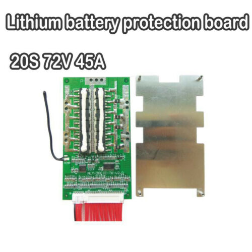 20S 72V 45A Li-ion Lithium Cells Protection Battery BMS PCB Balance Board