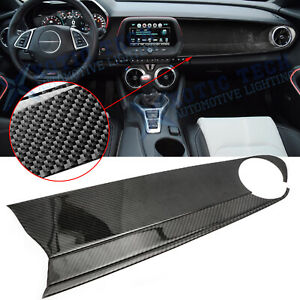 Red Dashboard Copilot Cover Trim Frame Sticker Decor for Ford Mustang 15-20 New