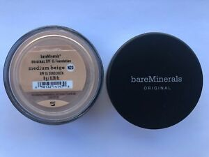 2-Packs-BareMinerals-Medium-Beige-Escentuals-Foundation-SPF-15-N20-8g-XL