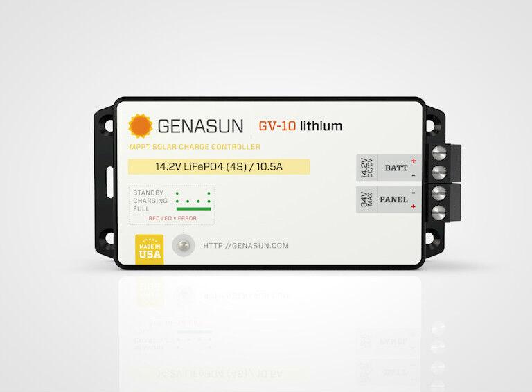 Genasun Solar Regulator GV-Boost 8 56 Li (Lithium)
