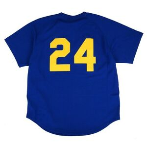 separation shoes 4fda1 4f1fb Details about Ken Griffey Jr 1991 Seattle Mariners Mitchell & Ness  Authentic BP Jersey Men's