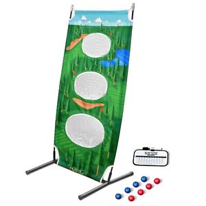 GoSports BattleChip Vertical Challenge Backyard Golf Game ...