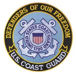"""PATCH U.S. Coast Guard 5"""" Defenders of Our Freedom"""