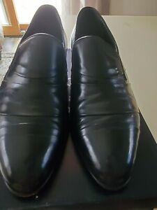 carlo morandi black velvet loafers