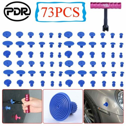 72x Puller Tabs 1pc T-Bar Pulling PDR Tools For Car Body Dent Paintless Removal