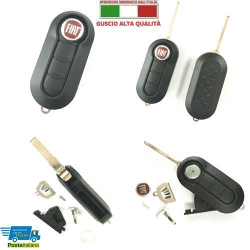 Chiave Telecomando Guscio FIAT 500 L PUNTO EVO PANDA LANCIA MUSA YPSILON ..