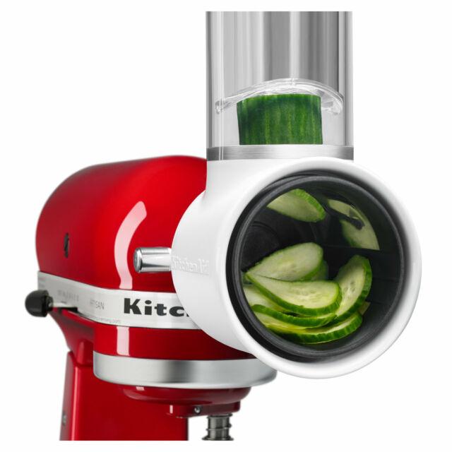 NEW KitchenAid 5KSMVSA Fresh Prep Slicer/Shredder Attachment
