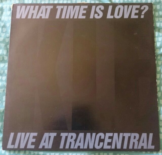 "The KLF and the Children of the Revolution - What Time Is Love? (1990s) (12"")"
