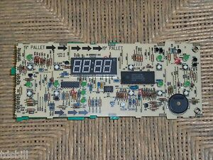 Details about Frigidaire Kenmore Tappan Range Broiler Oven Clock Electronic  Circuit Board Assy