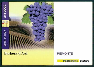 """Italien Werbekarte """"made In Italy"""" Weinanbau Wein Wine Trauben Piemonte Ed53 Supplement Die Vitalenergie Und NäHren Yin"""