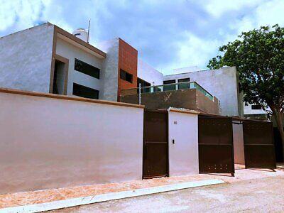 Hermosa Casa Amueblada en Renta San Pedro Cholul Merida con Seguridad