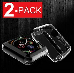 For-Apple-Watch-Series-4-40mm-44mm-Slim-Full-Body-Clear-Soft-TPU-Case-Cover