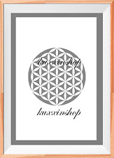 Flower of life Pattern A4 Mylar Reusable Stencil Airbrush Painting Art