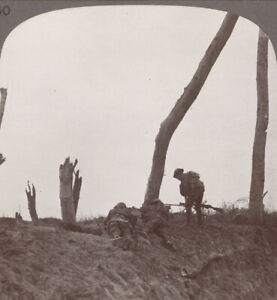 WW1-Our-Troops-Charge-Forward-into-Bernafay-Wood-amp-Clear-Bosche-Entrenchments