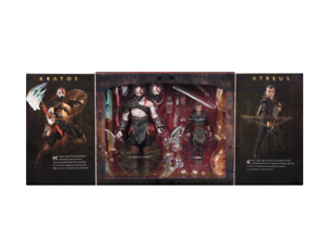 Neca Ultimate Kratos & Atreus Set 2 Figuras 18 cm God of War 2018