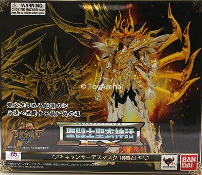 Saint Seiya Cloth Myth EX God Cloth Cancer Deathmask Action Figure IN STOCK USA