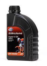 Fuchs Silkolene 1 Litre Super 4 SX 10W40 4 Stroke Semi Synthetic Engine Oil