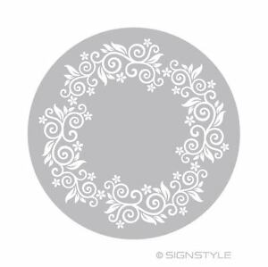 modeles-Mylar-tarte-3-floral-Vrille-Ornement-Pochoir-de-gateau-decoration