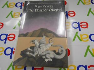 The-Hand-Of-Oberon-by-Roger-Zelazny-1976-USA-HC-Doubleday-1st-Edition-SIGNED